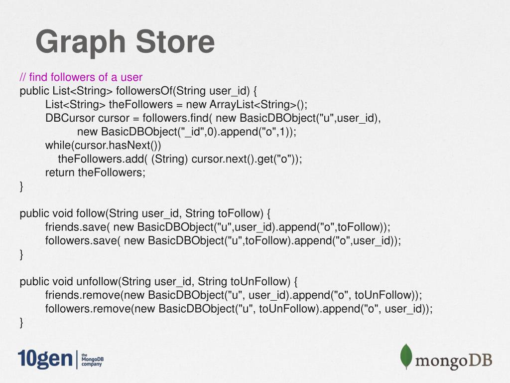 PPT - Building a scalable inbox system with MongoDB and Java