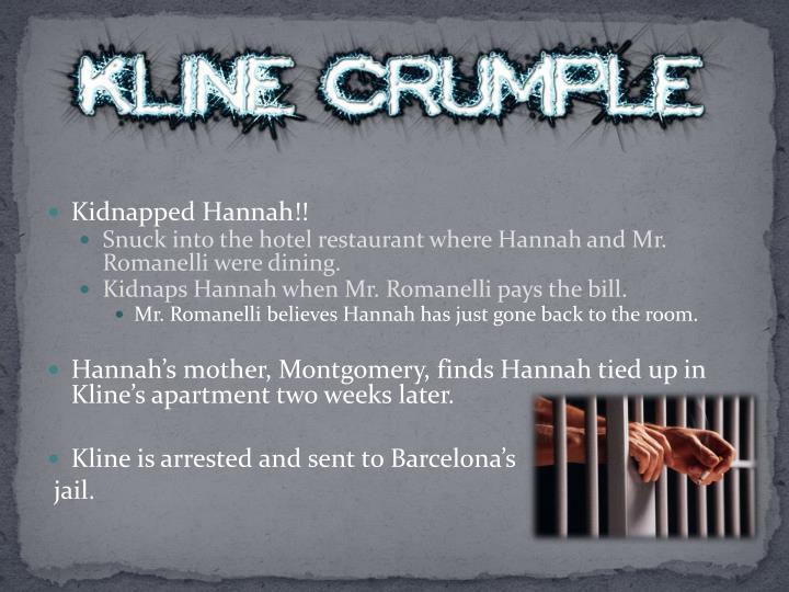 Kidnapped Hannah!!