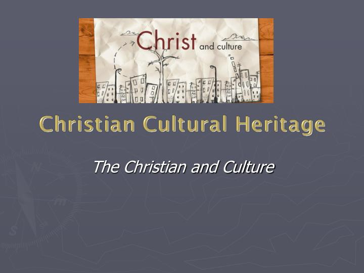 christian cultural heritage Programs the campus is a third place where people find community apart from work and home in this third space people are welcomed into a life of spiritual growth and personal mission.