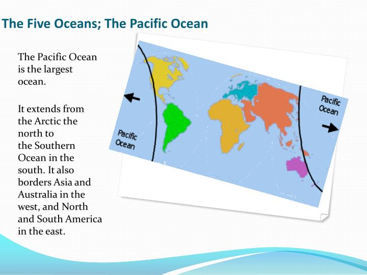 The Five Oceans; The Pacific Ocean