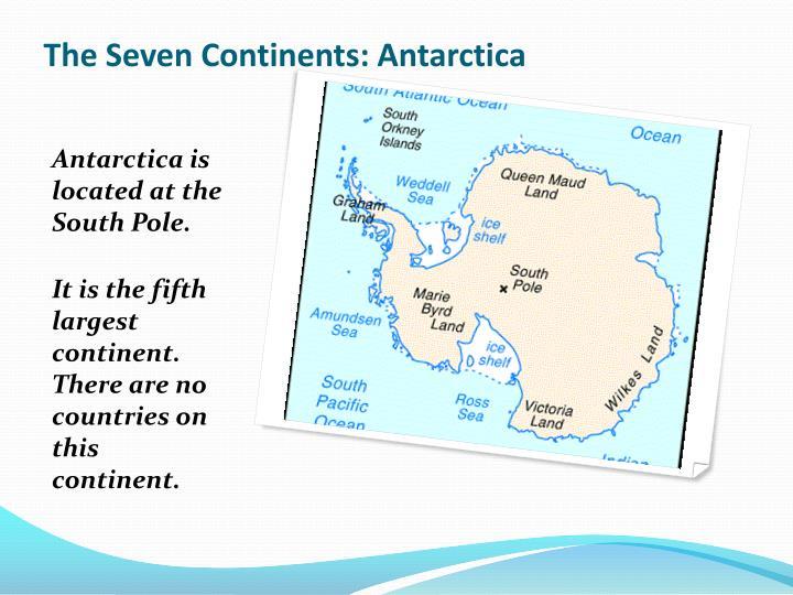 The Seven Continents: Antarctica