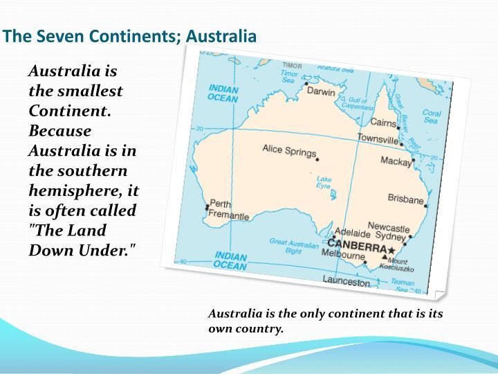 The Seven Continents; Australia
