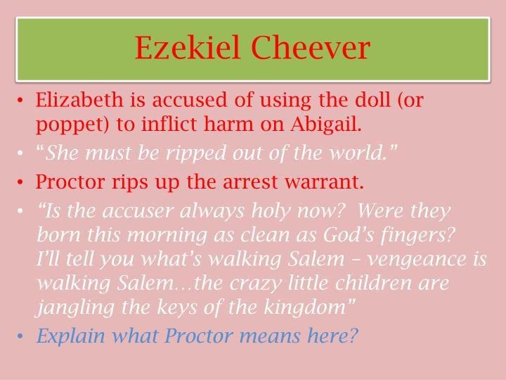 Ezekiel Cheever