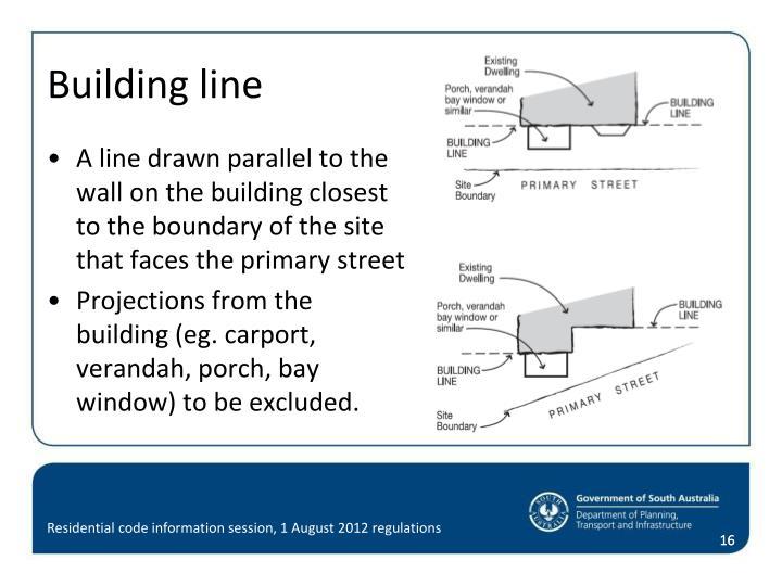 Building line