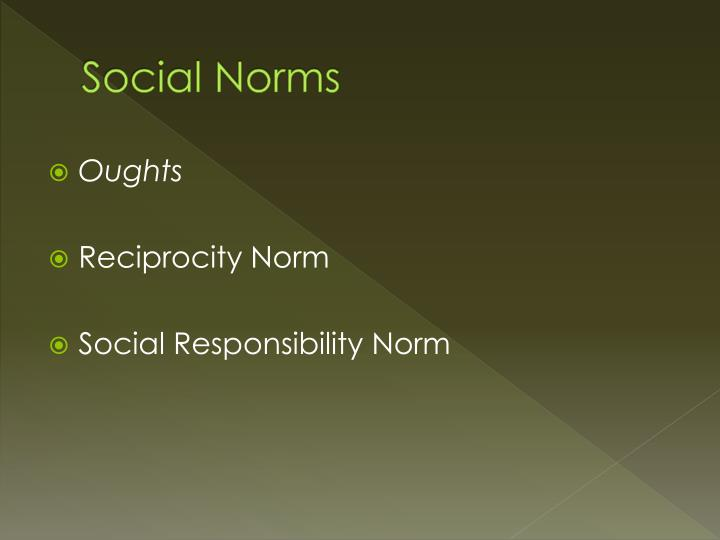 power of social norms Social media, in particular, can help organizations u nderstand norms and how they spread, i dentify what effective messaging that influences norms looks like, and d esign communications to create new norms or counter discriminatory norms.