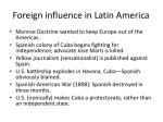 foreign influence in latin america