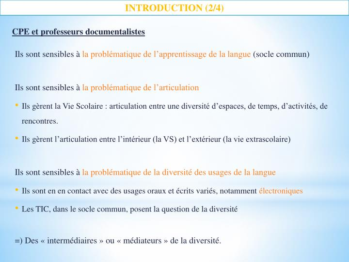 INTRODUCTION (2/4)