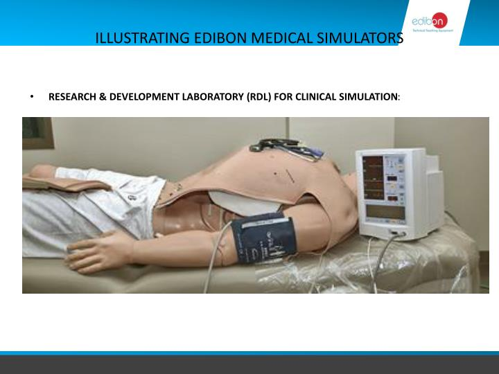 ILLUSTRATING EDIBON MEDICAL SIMULATORS