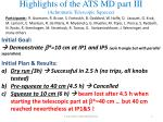 highlights of the ats md part iii achromatic telescopic squeeze