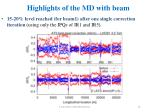 highlights of the md with beam6