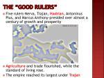 the good rulers