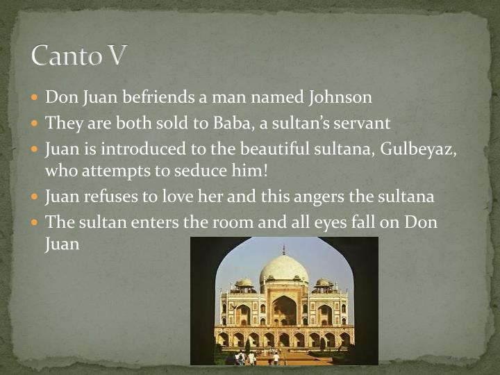 don juan canto 1 summary