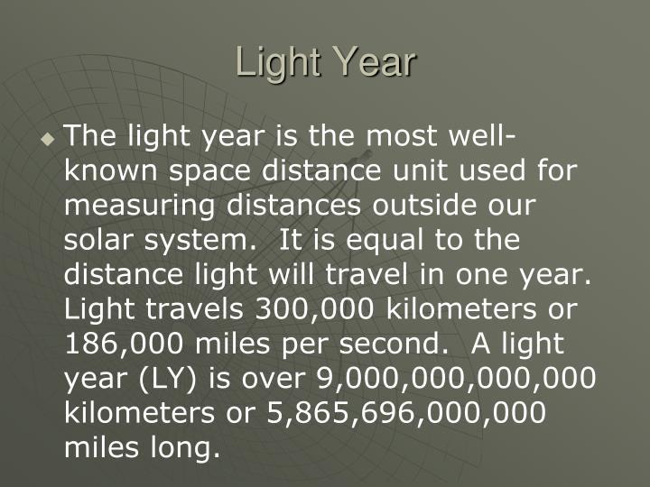 Light Year