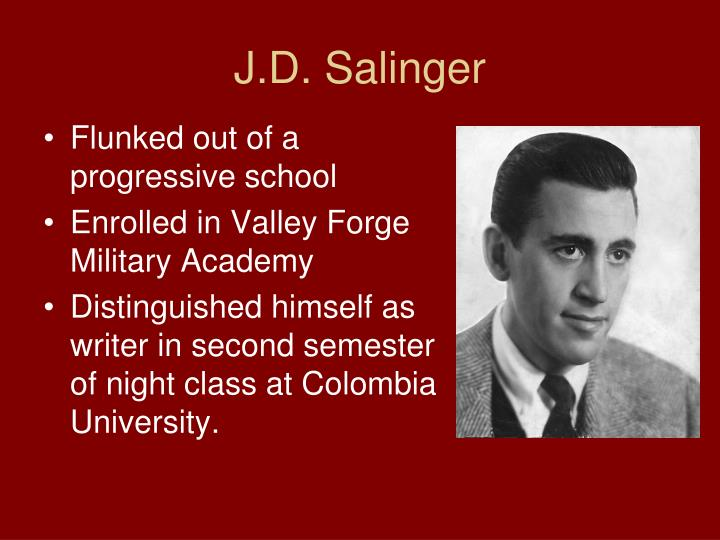 overcoming trauma in j d salingers the Come and learn about the ins and outs of j d salinger, his relationships and compatibility with you.