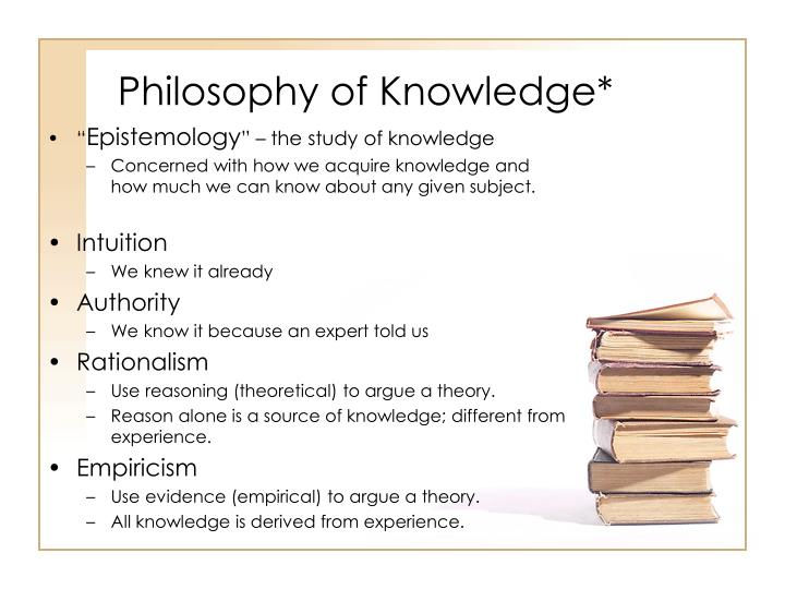 philosophy and knowledge