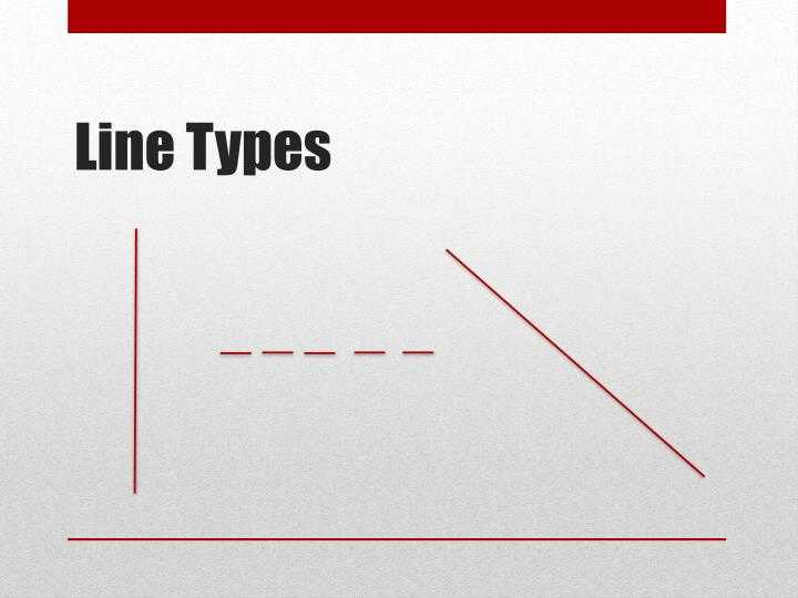 Line Types