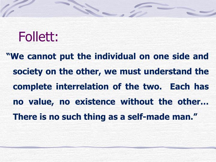 Follett: