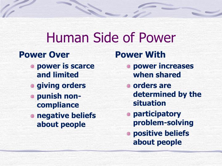 Power Over