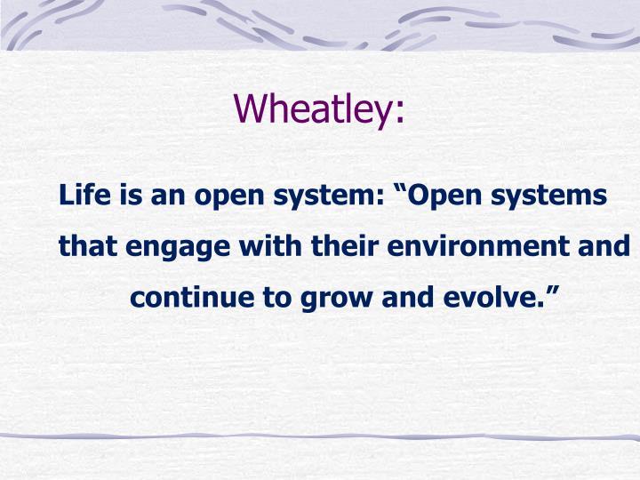Wheatley: