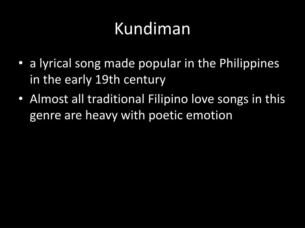 PPT - HISTORY of PHILIPPINE MUSIC PowerPoint Presentation - ID:1974821