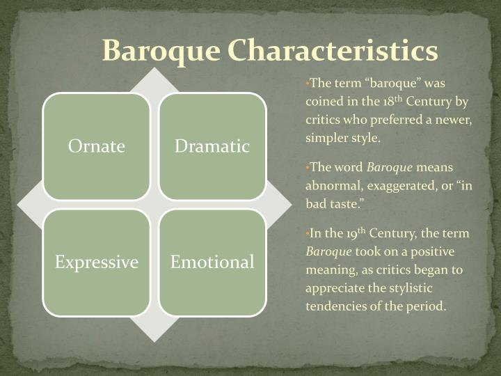 Ppt baroque period powerpoint presentation id 1974832 for What are the characteristics of baroque period