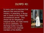 dlmpd 40