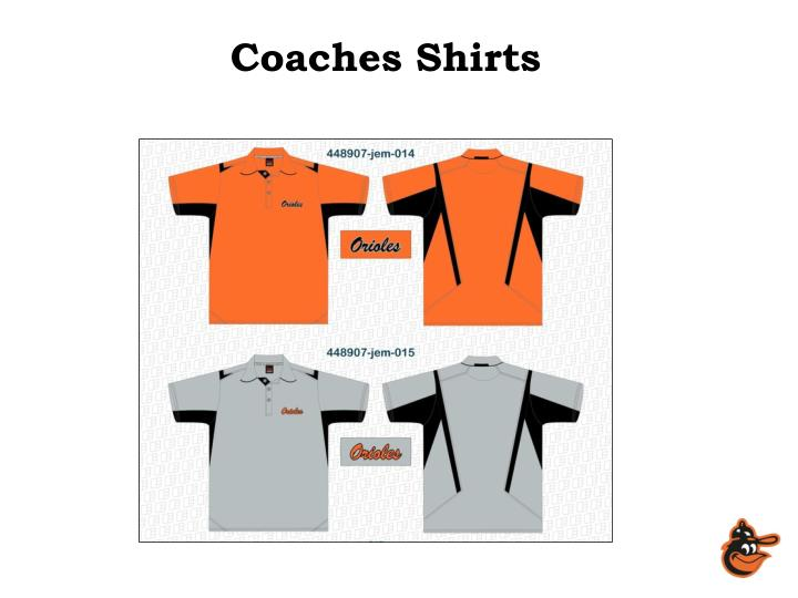 Coaches Shirts