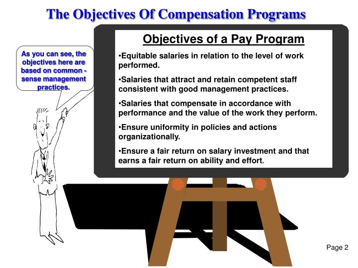 The Objectives Of Compensation Programs