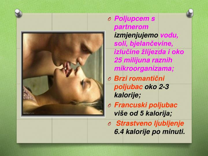 Poljupcem s partnerom