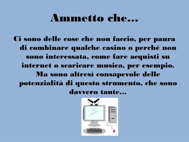 Ammetto