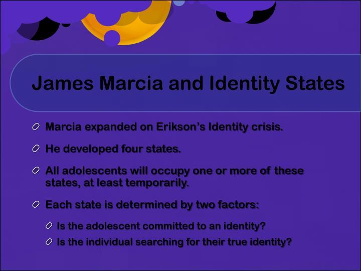 james marcia identity