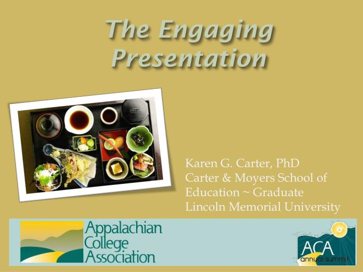 the engaging presentation n.