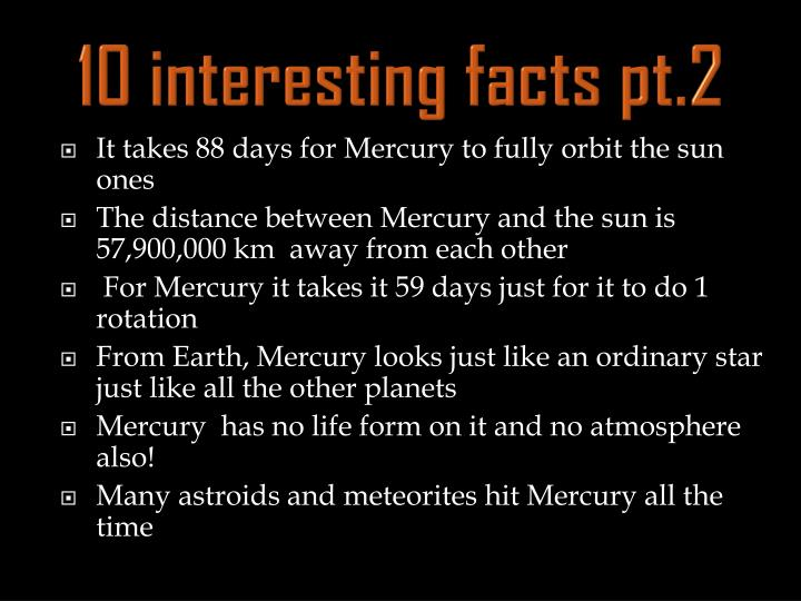 10 interesting facts pt 2