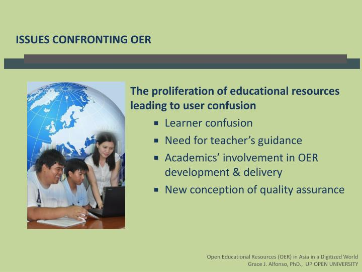 The proliferation of educational