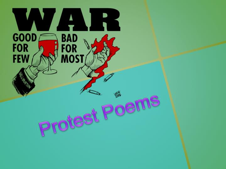 protest poems n.