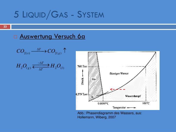 5 Liquid/Gas - System