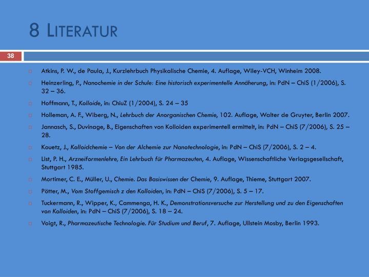 8 Literatur