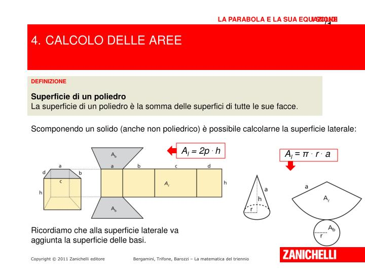 Ppt i solidi powerpoint presentation id 1977123 for Calcolo superficie
