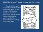 1952 the reader s digest cancer by the carton