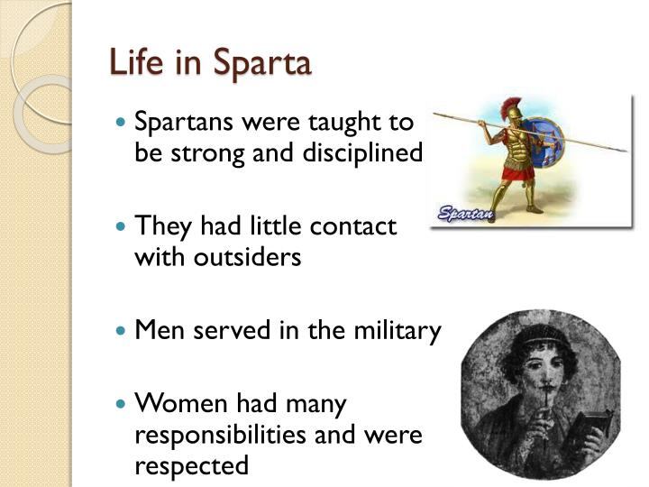 Life in Sparta