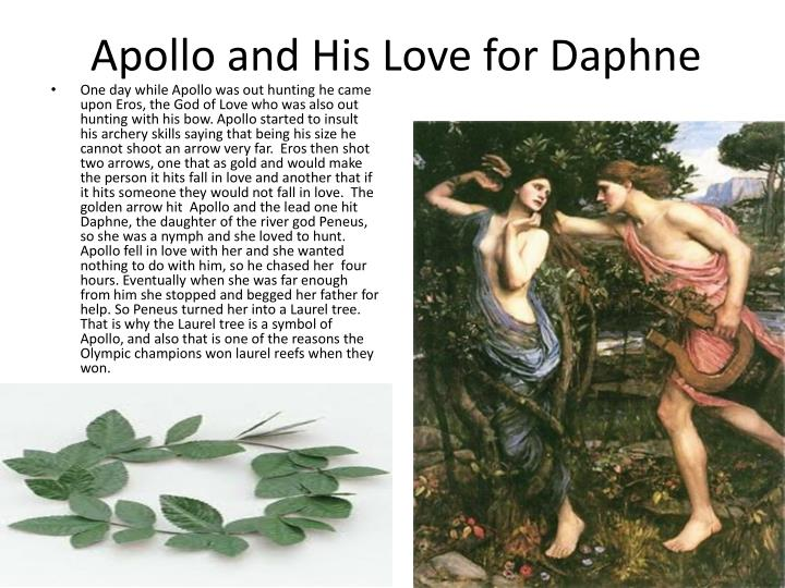 Apollo and His Love for Daphne