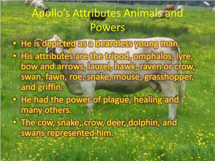 Apollo's Attributes Animals and Powers