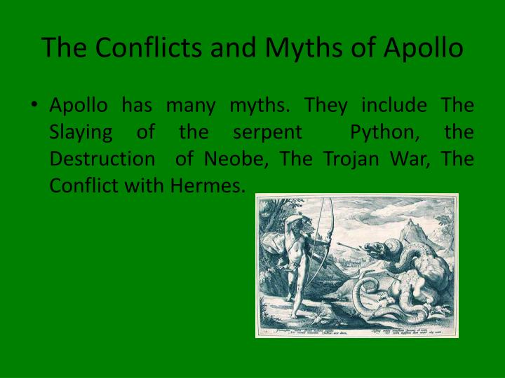 The Conflicts and Myths of Apollo