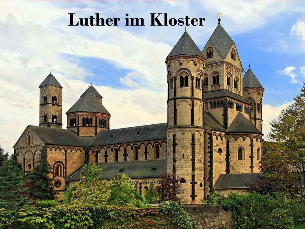 Martin Luther Im Kloster
