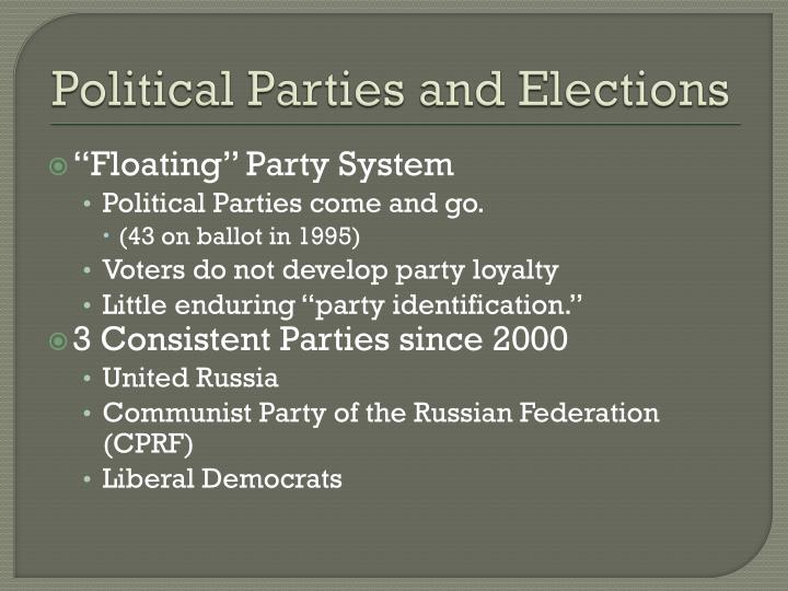 political parties party and electoral systems