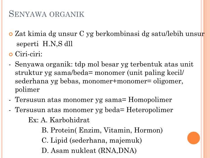 Senyawa organik