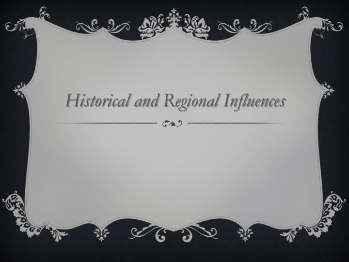 Historical and
