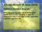 a good minister of jesus christ10