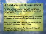a good minister of jesus christ15