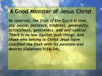 a good minister of jesus christ19